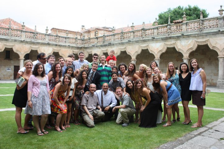 Study Abroad Group in Spain