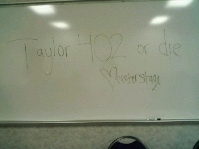 Taylor 402 or Die