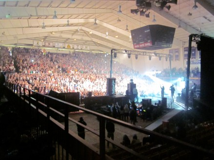 Sold out crowd for Wiz Khalifa