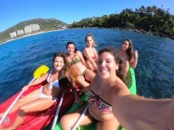 Kayaking Catseye Beach